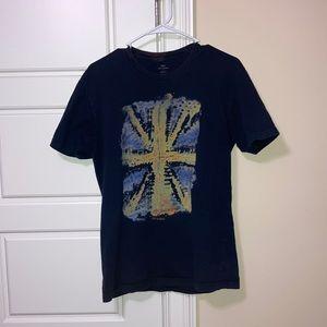 Ben Sherman Tie dye British flag t-shirt